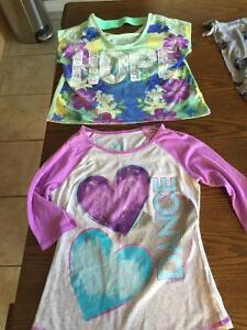 Girls Shirts from Justice-size 6,7,8