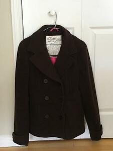 Brown Winter Dress Coat