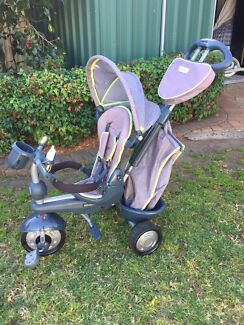 Smart Trike Kids Push and Pedal Tricycle