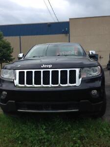 2013 Jeep Grand Cherokee overland VUS