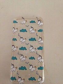 iPhone 5c rubber case unicorn