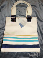 Jason Wu for Target Blue Stripe Canvas Tote Bag
