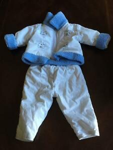 2 piece snow suit
