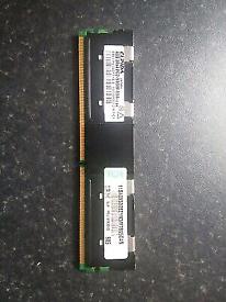 ELPIDA 4GB PC2-5300F 555 DDR2 EBE21FE8ACWT-6E-E Server Memory