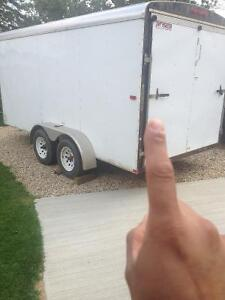 Trade carpenters trailer for your Harley