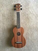 Ukulele w/ hand painted back