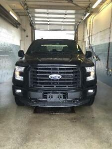 2015-2016 Ford F-150 sport black grille