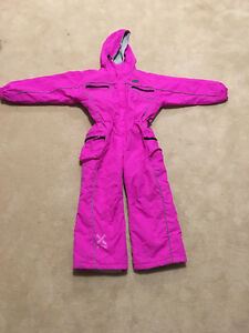 Xtm pink ski suit size 8 girls Gowrie Tuggeranong Preview