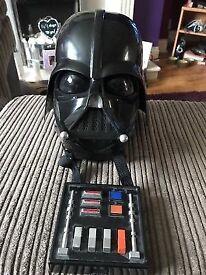 Hasbro 2004 Darth Vader voice over helmet