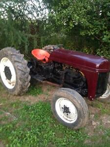 1955 ford tractor and one for parts