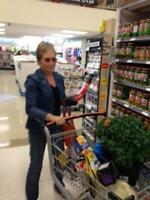 Groceries in Motion