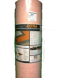 Ditra 30 sealed roll 323 square feet brand new