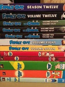 Family Guy Seasons 1-12