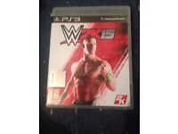 W2K15 ps3 game