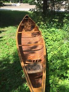 18' Cedar Canoe - Antique and useable
