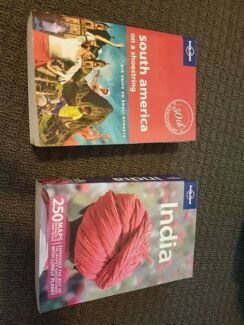 lonely planet guide for india and south america
