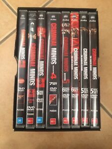 Criminal Minds BoxSet Seasons 1-8 Maryland Newcastle Area Preview