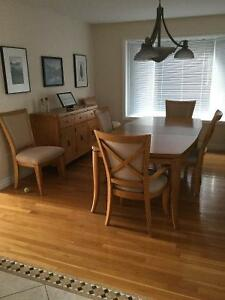 """""""Manhattan"""" contemporary dining room suite REDUCED TO $1500.00"""