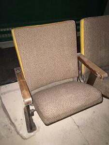 Vintage Movie Theatre Chairs: Kincardine, Ontario