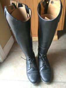 English tall field riding boots size 7