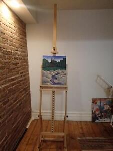 Chevalet ajustable - Adjustable easel