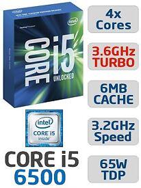 Intel Core i5 6500 (6th Gen Skylake) Processor Chip