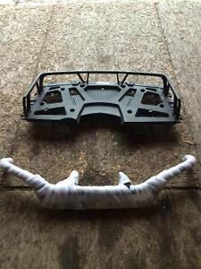 Polaris Kit cargo front/ Bumper arr / coffre arr