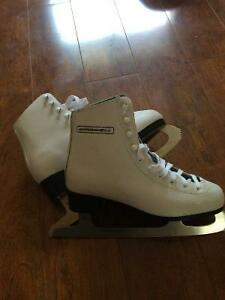 Girls Size 5 Skates Used Once