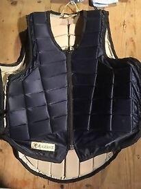 Body Protector RaceSafe RS 2000. Size: MEDIUM