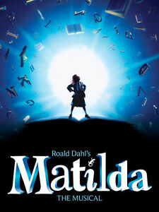 Looking for 2 Tickets to MATILDA - Oct. 29