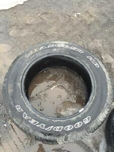 2, 20 inch tires.