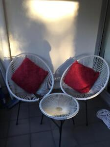 Outdoor chairs and table Zetland Inner Sydney Preview