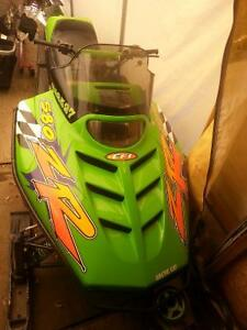 mint sled trade for dirtbike