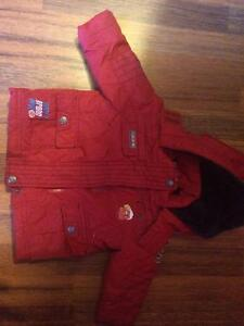 Cars winter jacket 6-12 month