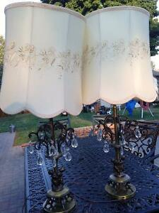 2 lamps with cherubs...new price