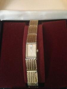 LADIES GOLD TONE SEKIO WATCH