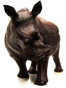 Wood carved animals ebay