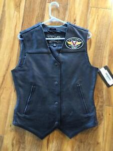 Victory Motorcycle women's leather vest
