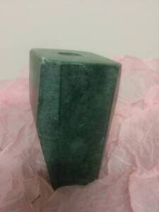 RRP$30 New Anthropologie Marble Green Bud Vase Strathmore Moonee Valley Preview