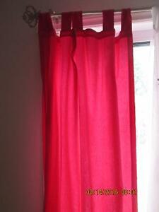 Fushia Pink Curtains