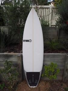 """RMS Squelch Surfboard, Practically new 6'0""""x 19 ¼ x 2 5/16, 28.8L Adamstown Heights Newcastle Area Preview"""