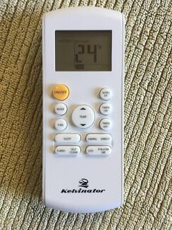 New, Kelvinator Air Conditioner Remote Control