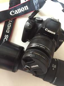 CANON REBEL T1i EOS + 300 mm ZOOM