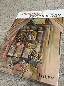 Abnormal Psychology (5th Canadian Edition) by Davison & Neale