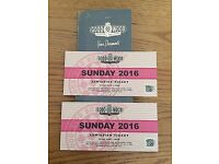 Goodwood Revival Tickets x2 Sunday 11th September 2016