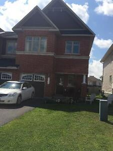 End Unit Townhouse In Orleans (Trailsedge) For Rent!