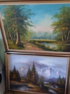 OIL PAINTINGS, TRAMPOLINE, CUBBY HOUSE, ANTIQUES Dural Hornsby Area Preview