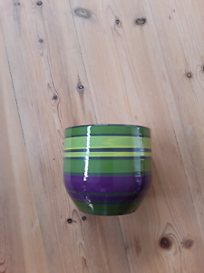 Green clay pot - made in Germany Littlehampton Mount Barker Area Preview
