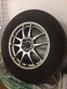 Winter Tires Michelin X-Ice 2 235/65R17 Wheels 5x100 / 5x114.3