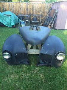 Front Fenders and Hood